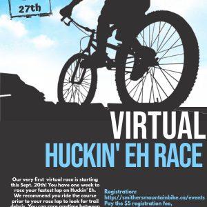 Virtual Huckin' Eh Race