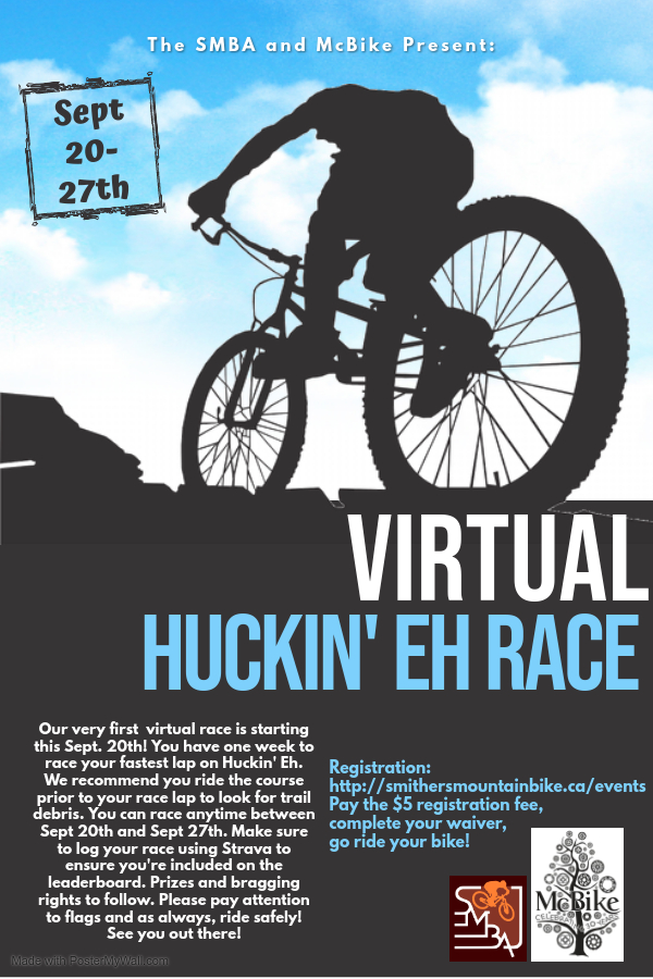 Virtual Huckin' Eh Race